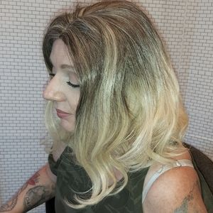 Ombre Synthetic Hair Wig.